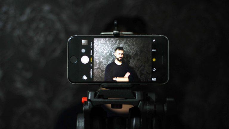 mirino fotografico smartphone